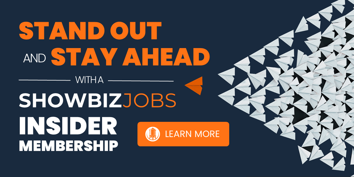 ShowbizJobs Insider Membership
